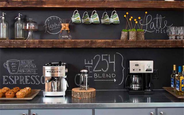 一个角落,一个家庭咖啡屋,满足你拥有一家浪漫咖啡馆的情怀