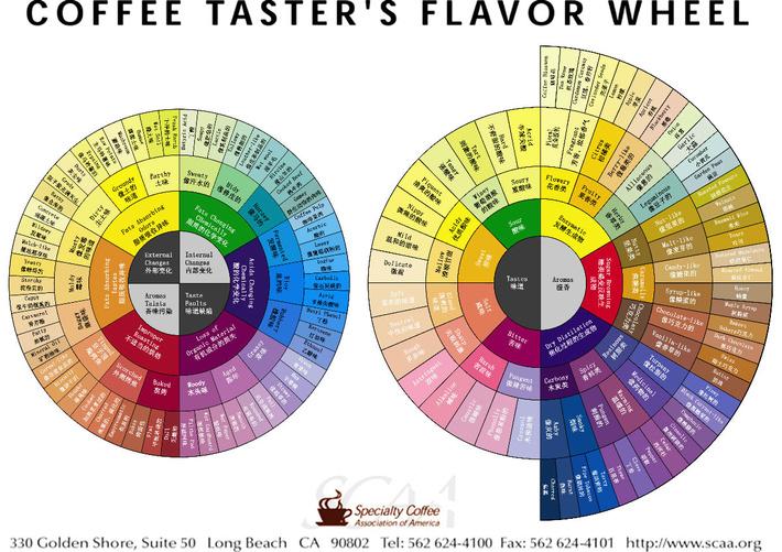 咖啡风味轮是品鉴咖啡风味时非常重要的一个标准 正确使用风味轮