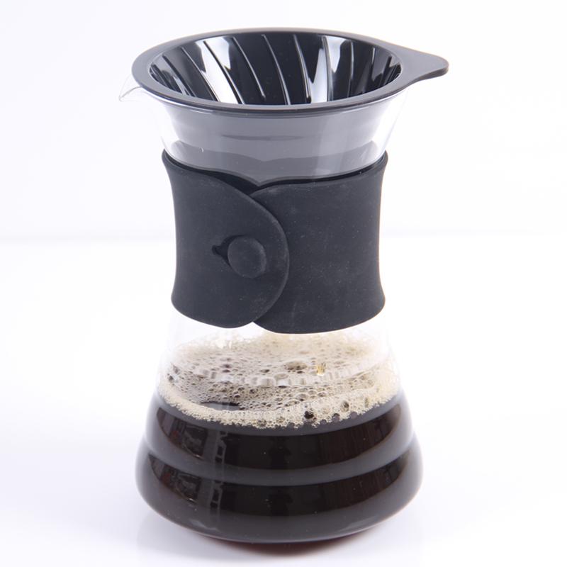 日本HARIO品牌 V60玻璃手冲咖啡壶 精品咖啡手冲法首选配件壶