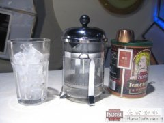如何用法压壶制作冰咖啡