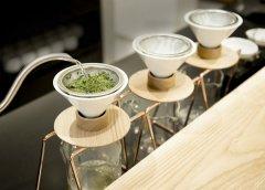 手冲咖啡已不稀奇!东京出现第一家手冲单品绿茶专卖店!
