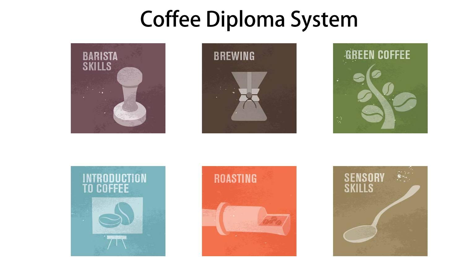 咖啡证书有哪几种?SCA咖啡文凭六大模块,CQI国际认证
