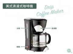 美式滴漏式咖啡机使用教程 滴漏咖啡怎么冲?怎么喝?需要加奶吗
