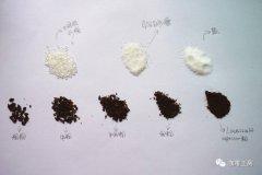 研磨度 | 手冲咖啡用多细的粉?小富士粗粉中粉中细粉细粉极细粉