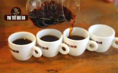 手冲咖啡和意式咖啡的区别 单品咖啡冲煮方式比例风味口味特点